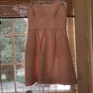 Moulinette Soeurs Pink and White Dress